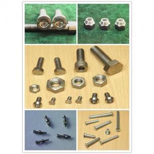 China titanium fasteners/bolt/nut/screw/rivet wholesale
