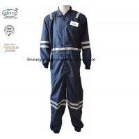China 5.3OZ Inherent Fr Clothing Aramid Permanent Fire Resistant With Reflective Trim on sale