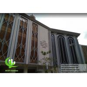 China Laser cut Aluminum facade aluminium wall cladding for mosque muslim wholesale