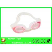China Anti Fog Kids  Clear Lens Silicone Swimming Goggles for Spa , Swim Pool Diving Goggles wholesale