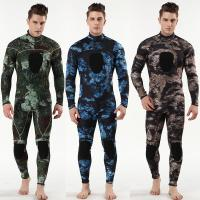 China Keep Warm 2/3MM Premium Neoprene CR Men Long Sleeve Spring Shorty Diving Suit Men on sale