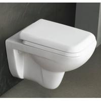 China Sanitary Ware Toilets Ceramic Washdown P-trap 180mm Roughing-in Bathroom Wall-hung Toilet wholesale