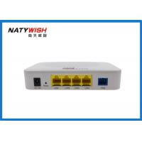 China White 1 EPON Port FTTX ONT , FTTX Optical Network Unit Support WiFi Function wholesale