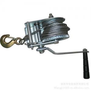 Buy cheap トレーラー、携帯用手動手のウィンチのための海洋の船のデッキ装置 from wholesalers