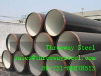China Galvanized Longitudinal Welded Pipes LSAW Pipe in stock on sale