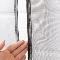 China Heavy Duty Magnetic Door Mesh Net Curtain / Fiberglass Insect Screen Patio Door on sale