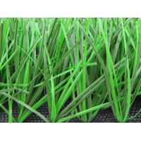 Two Colors Natural Artificial Grass With 50mm Height For Football And Soccer
