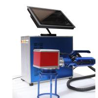 China High - Tech Low Noise Metal Etching Machine , Laser Etching Machine For Metal wholesale