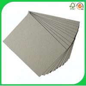 China Kappa gray recycled chip board / Grey paper board wholesale