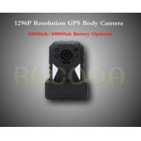 China RECODA M505 1296P Resolution Police Body Camera with GPS 11 hours working time wholesale
