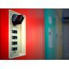 Buy cheap Factory Keyless ABS Plastic Lockers 5 Tier Red Door Changing Room Lockers from wholesalers