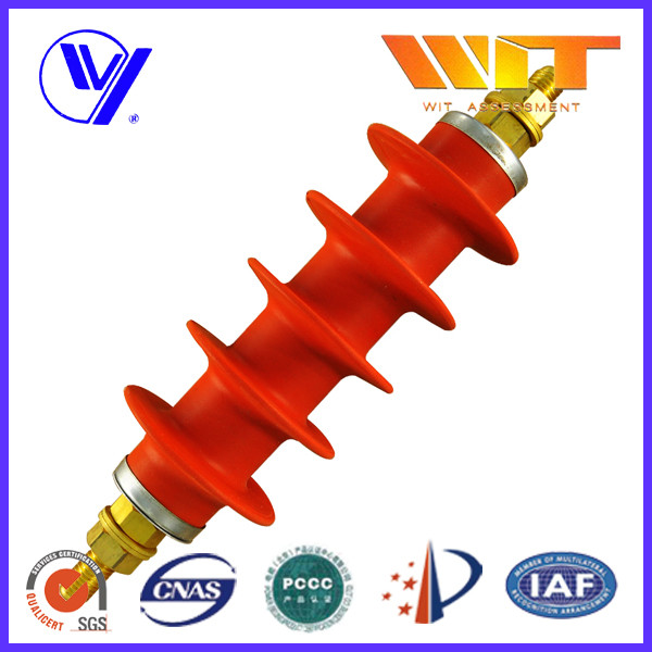 Quality Professional Switching Red Polymer Surge Arrester 54KV in Substation for sale