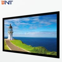 China 16:10 format fixed frame projector screen used in government agency BETFS10-120 wholesale
