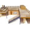 China 2-Layer Industrial Mezzanine Floor With Warranty 5 Years / Mezzanine Railing wholesale