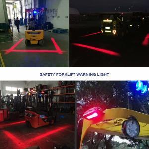 Quality Red Zone Forklift Danger Zone Warning Light,Forklift Halo Light, Side-Mount for sale
