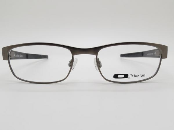 Titanium Eyeglass Frames Lenscrafters : Oakley Plate Silver
