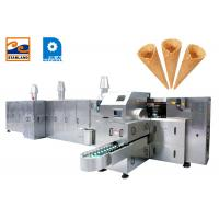 Buy cheap Industrial Sugar Cone Production Line / Egg Rolled Cone Making Machine from wholesalers