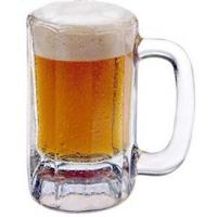 China 8oz Double Wall Barrel Shaped Stainless Steel Beer Mug with Antique Copper Color wholesale