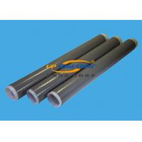 China Durable Silicone Shrink Tubing , Oil Refinery Use Black Shrink Tube wholesale