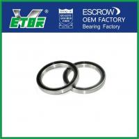 China Deep Groove High Precision Ball Bearings , Sealed Deep Groove Roller Bearing wholesale
