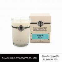 China Southern Belle / Raspberry Fragrance Natural Scented Candle Chemical Free , Eliminating Odors wholesale