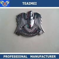 China 3D Silver Badge Sticker Auto Badges Emblems 5-8 Years Use Life wholesale