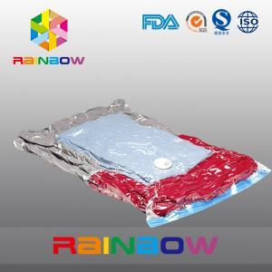 China Nylon PE laminated plastic vacuum storage bag for clothes packaging wholesale