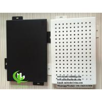 China Formed aluminum panel for facade cladding weatherproof powder coated wholesale