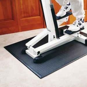 China Hot Printed Treadmill Anti Vibration Floor Protector Mat Fitness Equipment wholesale