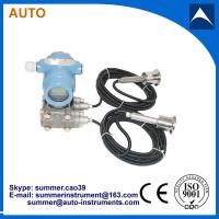 Remote double clamp intelligent differential pressure transmitter