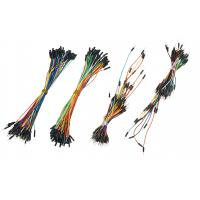 China Electrical DIY Breadboard Jumper Wires , Flexible Solid Core Jumper Wires on sale