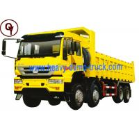 China Sinotruk howo 8x4 Golden Prince dumper tipper trucks for sale wholesale