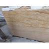 China Custom Imperial Gold Granite Stone Slabs 2cm 2.5cm 3cm Thickness wholesale
