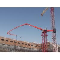China 36m Stationary Concrete Placing Boom 4 Boom Sections With Proportional Valve on sale