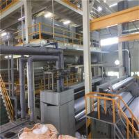Ss Spunbond Non Woven Fabric Machine For Geotextile With Full Automatic