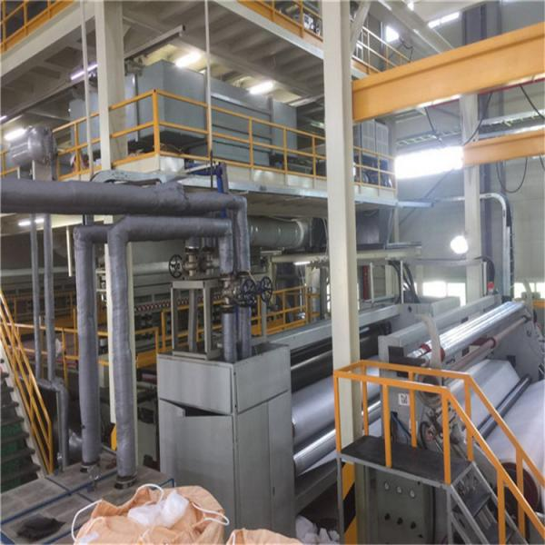 Quality Ss Spunbond Non Woven Fabric Machine For Geotextile With Full Automatic for sale
