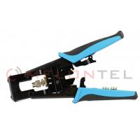 China F / BNC / RCA Telecom Hand Tools Wire Connector Crimping Tool For Coaxial Cable Connector wholesale