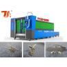 China Cortadora del laser del metal del arrabio con el laser de la fibra/el pórtico con el bastidor de la aleación del magnesio wholesale