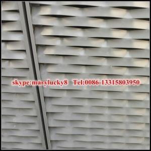 China esthetic aluminium expanded mesh wall claddings wholesale