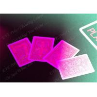China 100% Plastic Fournier Marked Decks Marked Playing Cards For European Casinos wholesale