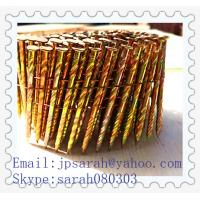 China iron coil nails 15 degree Coil nails factory on sale