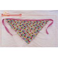 China Non Adjustable Kerchief Dog Bandana Size s To l In Tie Style puppy accessories wholesale