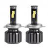 China Jogo dos faróis do diodo emissor de luz do carro H4 com o mini fio do motorista do diodo emissor de luz alto - baixo feixe wholesale
