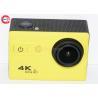 China 50hz  4k Sports Camera , Diving 30m Waterproof Video Camcorder 1050mah wholesale