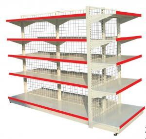 China Multi-layer Supermarket Shelf With Back Board/Supermarket Equipment/Shelving System wholesale