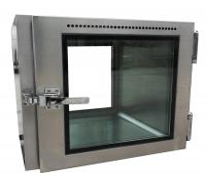 China Customize Static Cleanroom Pass Box With Mechanical Interlocking wholesale