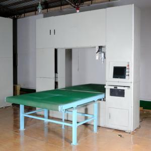 China Vertical Wire CNC Foam Cutting Machine For Rock Wool / EVA Foam / Rebonding Foams on sale