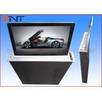 China Super Slim Motorized Desktop LCD Monitor Lift With 17.3 Inch FHD Screen wholesale