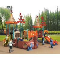 China 2015 kindergarten outdoor playground equipment Suitable for normcoe style kids wholesale