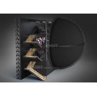 China Flying Theater Experience Use Big Dome Screen With  Flying Motion Seater wholesale